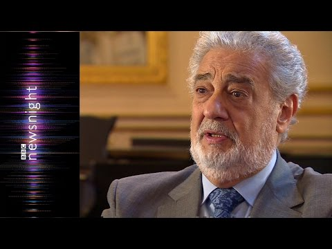 Placido Domingo speaks to Newsnight