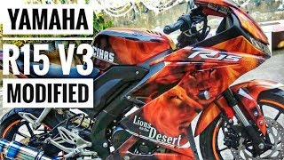 HOT - Yamaha r15 v3 wrap video, squidclip com