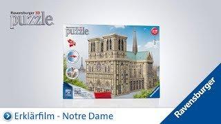Ravensburger 3D Puzzle: Notre Dame
