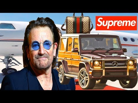 10 MOST EXPENSIVE THINGS OWNED  U2'S LEAD VOCALIST BONO