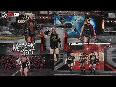 WWE 2K18 : NXT MODS SHOWCASE