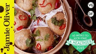 Healthy Dim Sum Buns | Jamie Oliver | #10HealthyMeals