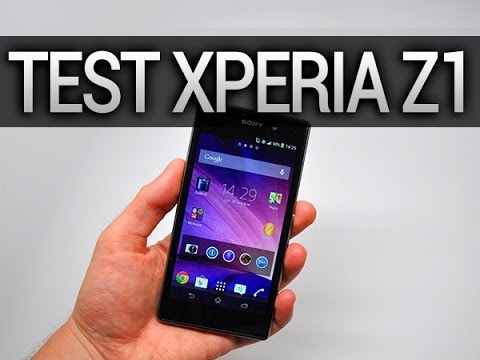 Test du Sony Xperia Z1 - par Test-Mobile.fr
