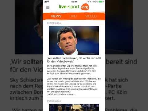 Live-sport.org Fußball App