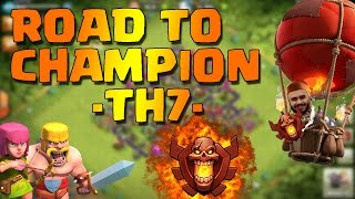BOOM! | Road to Champion-TH7 #3 (2059 coppe) | Clash of Clans ITA