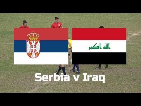All Nations Cup 2017 Serbia v Iraq whole game