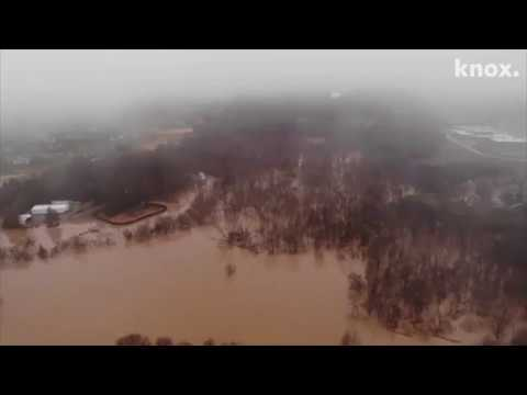 East Tennessee Flood: Drone Footage Shows Incredible Images Of Knoxville Flood Damage