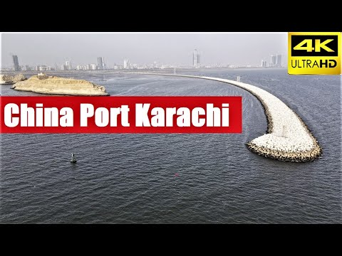 China Port Karachi [4k Drone 2021] Last of the Mohicans