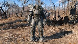 Как одеть или снять силовую броню на напарника fallout 4.