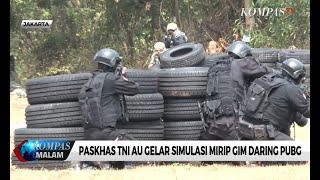 Paskhas TNI AU Gelar Simulasi Mirip Gim Daring PUBG