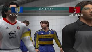 Pro Evolution Soccer 3 - 2003 - Parma Calcio 1913  VS  A.C. Milan (PC)