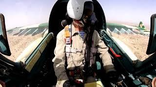 Так летают наши асы на Су 25