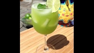 Cucumber, Mint And Lemon Agua Fresca