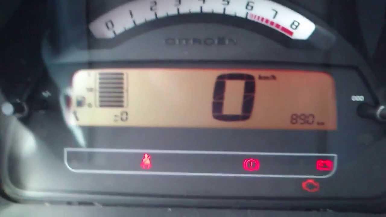 Kasowanie inspekcji citroen c3 oil service indicator light reset kasowanie inspekcji citroen c3 oil service indicator light reset citroen c3 youtube vanachro Images