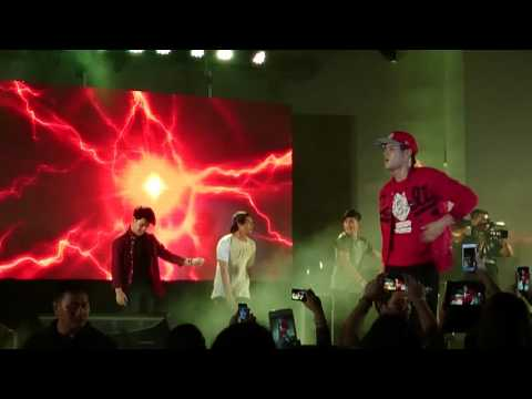 [151017] Enrique Gil - Twerk It Like Miley / Watch Me (Whip / Nae Nae) @ Island Cove Cavite