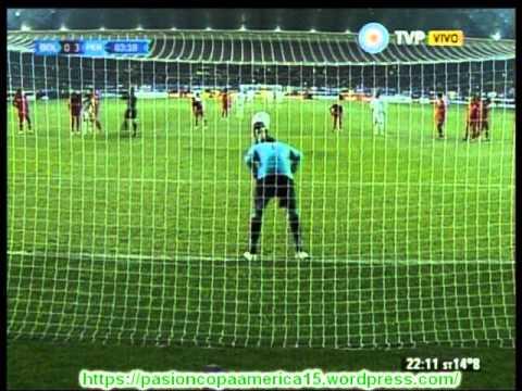 Peru 3 Bolivia 1 (FDP Bolivia Radio)   Copa America 2015