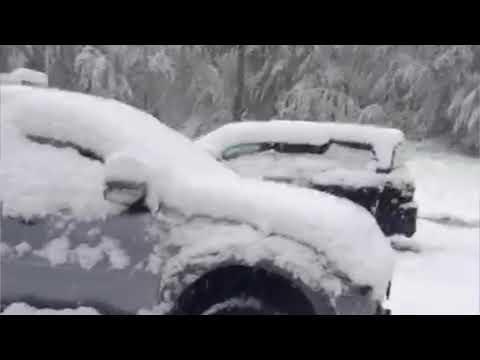 🌴ЛАЗАРЕВСКОЕ В Сочи выпал снег! И это не шутка, это месяц май!Снег  я снимал, а это видео прислали.