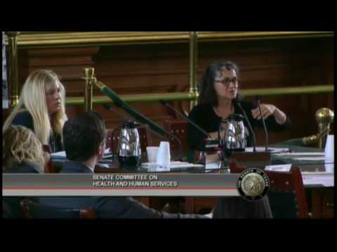 Anne Dunkelberg Testifies at the Senate Health and Human Services Committee