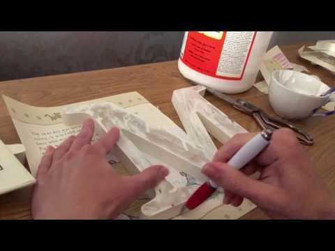 DIY nursery wooden letters diy home crafts diy baby project diy nursery