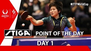 2015 Women's World Cup - Day 1 - Point of the Day presented by Stiga