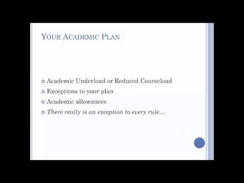 Creating an Academic Plan: When You're Diagnosed During College