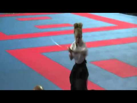 Little Girl Slays Samurai Routine With An Epic Ending!