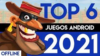 TOP 6 NUEVOS JUEGOS de ANDROID ¡SIN INTERNET!   Juegos MÁS DIVERTIDOS para Teléfonos Android 2019