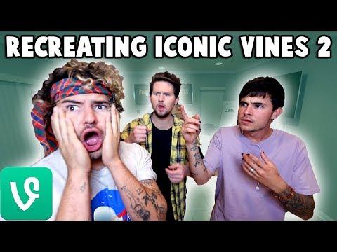RECREATING ICONIC VINES 2 w/ Kian & Jc