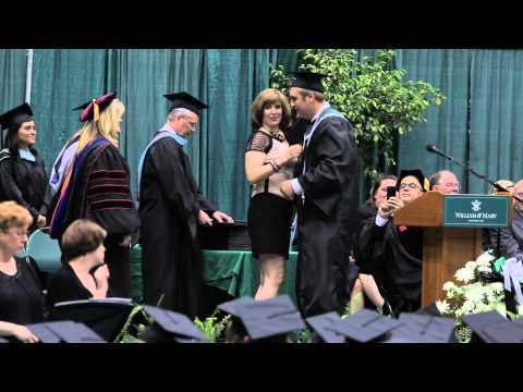 Presentation of Diplomas - Jamestown High School - Graduation 2015