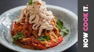 Nutty Chicken Noodle Stir Fry Recipe