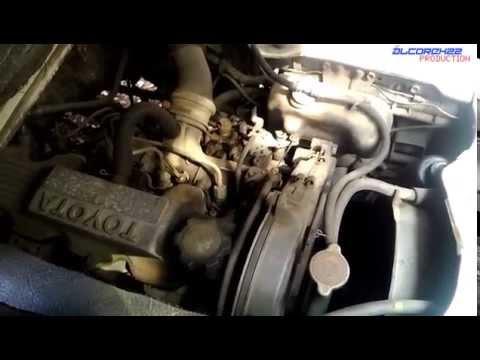 Toyota 2C Engine View - YouTube
