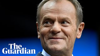 Brexit will leave UK a 'second-rate player', says Donald Tusk