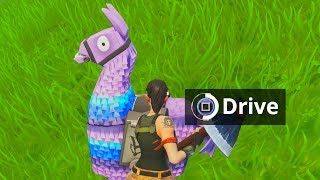 Default Skin hacker drives LLAMA on Fortnite...