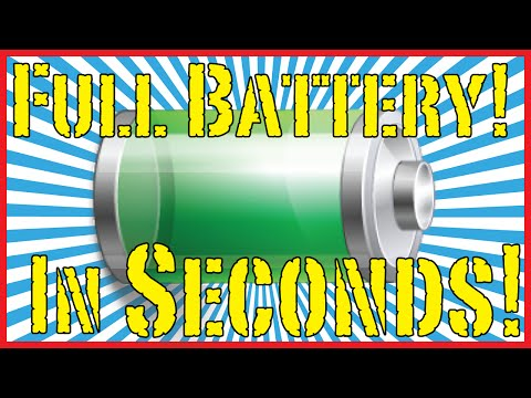 How To Charge Your Phone In 30 Seconds!