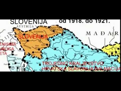 REPUBLIKA SLOVENIJA, SLOVENIJA 1918 1921