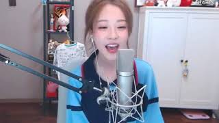 冯提莫挑战日语版《灌篮高手》主题曲, 说她假唱的可以闭嘴了!