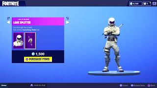 FORTNITE - STORE **NEW SKIN** OF HIGHLIGHTEd AND DAILY OBJECTS (17-8-2018)