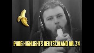 PUBG Highlights Deutschland #24 - Whiteydude lutscht ne Banane!
