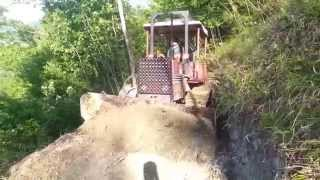 Fiat 855c costruzione strada