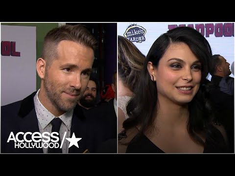 Ryan Reynolds & Morena Baccarin Dish On 'Deadpool' Sex Scenes At NYC Premiere | Access Hollywood