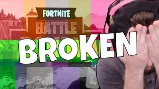FORTNITE IS BROKEN (FORTNITE BATTLE ROYALE)