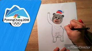 How To Draw Bandabi | PyeongChang 2018 | Winter Olympic Games