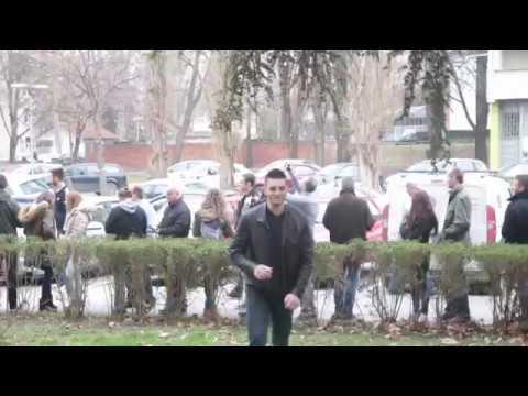 Ljubisa Preletacevic Beli, skupljanje potpisa, Novi Sad