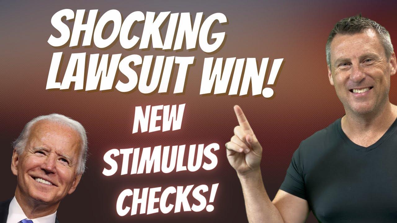 LAWSUIT WIN! NEW STIMULUS CHECKS $800 MILLION | Child Tax Credit + Credit Boost UPDATE PUA SSI SSDI