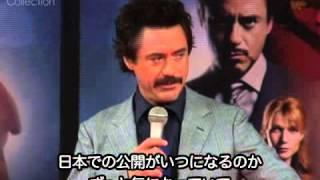 Robert Downey Jr./ Iron Man Press Conference at Tokio.