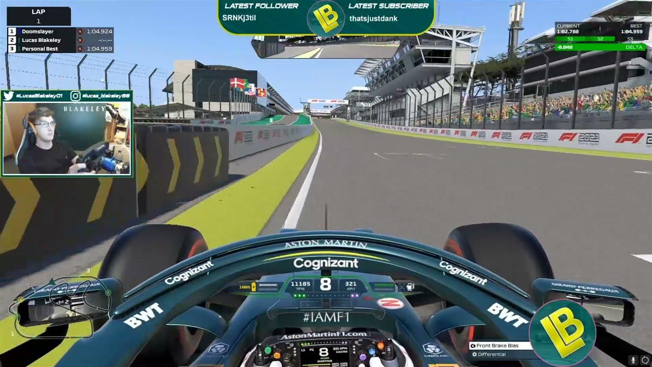 Download F1 2021 Brazil World Record | 1:04.917 | Lucas Blakeley