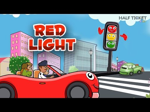 Red Light Red Light What Do You Say | Top Nursery Rhymes And Baby Songs With Lyrics