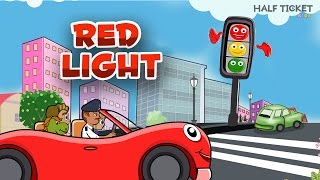 Red Light Red Light What Do You Say? | Nursery Rhymes Songs With Lyrics | Kids Songs