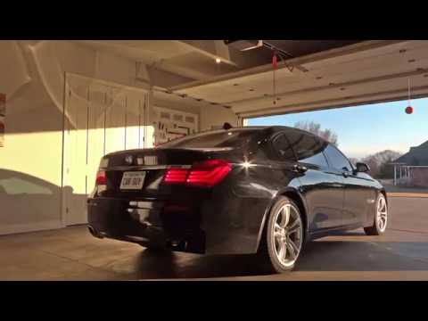 2013 Bmw 750li Muffler Delete Exhaust Sound Youtube