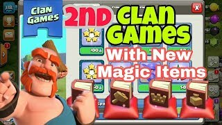 Clan Games The 2nd Is Here!! Clash of Clans (Second Clan Games features) Hindi/English